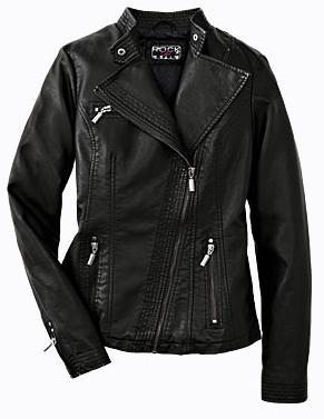 Kožená bunda na motorku