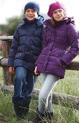 Dětské zimní bundy Tchibo