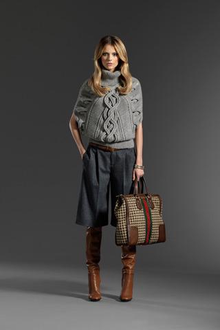 Pletený svetr Gucci podzim zima