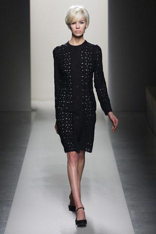Šaty kabat Bottega Veneta  podzim 201
