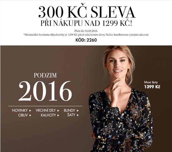 akce moda podzim 2016 sleva dámské oblečení