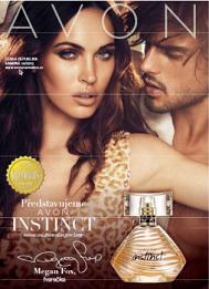 Avon Katalog 14 2013 Instinct parfém