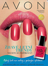 avon katalog 7-2014 gelové nehty