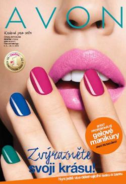 avon katalog 7-2016 gelové nehty