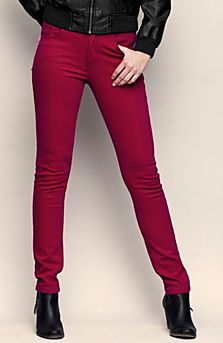 Barevné džíny podzim 2012
