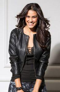 dámská černá kožená bunda 2014
