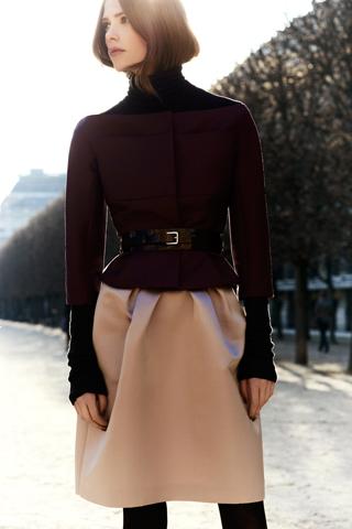 Móda podzim zima 2012 Dior