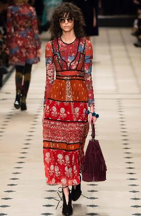 ethno orientalní šaty boho styl móda podzim 2016