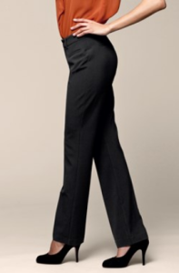 Klasické dámské kalhoty s puky