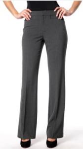 klasické rovné kalhoty strečové