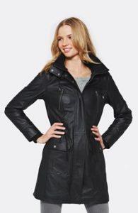 kožená bunda - kabát dámský Next