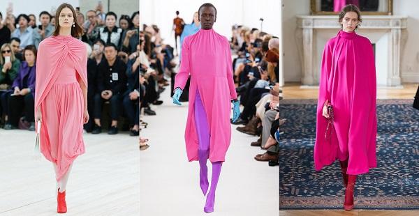 moda jaro leto 2017 ruzova purpurova