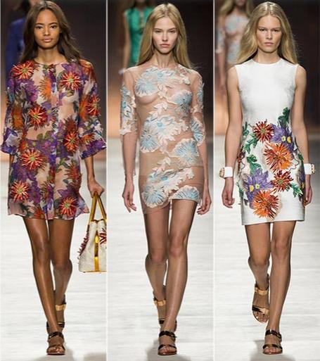 moda šaty léto 2015 blumarine