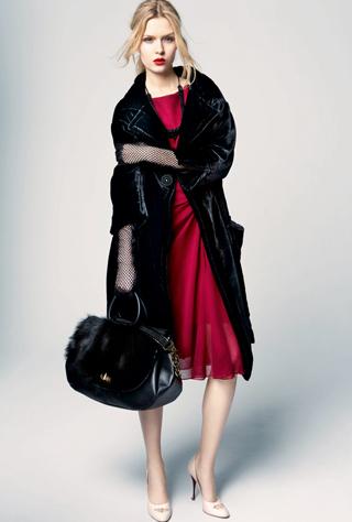 Móda podzim zima 2012 Nina Ricci