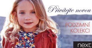 dětské oblečení Next kolekce nová podzim zima 2013 2014