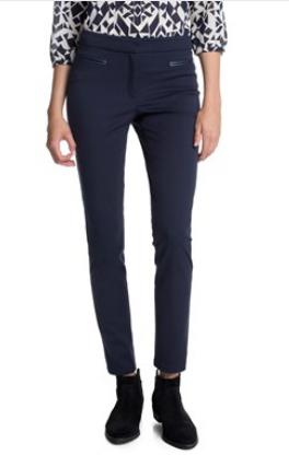 Dámské barevné kalhoty úzké
