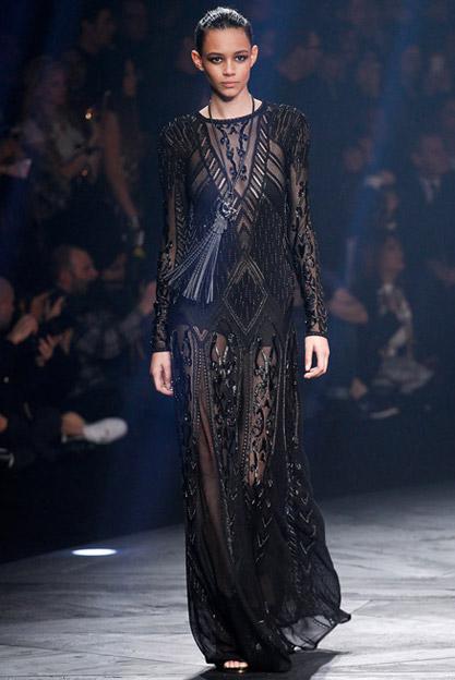 Společenské šaty podzim zima 2016-2017 Roberto Cavali